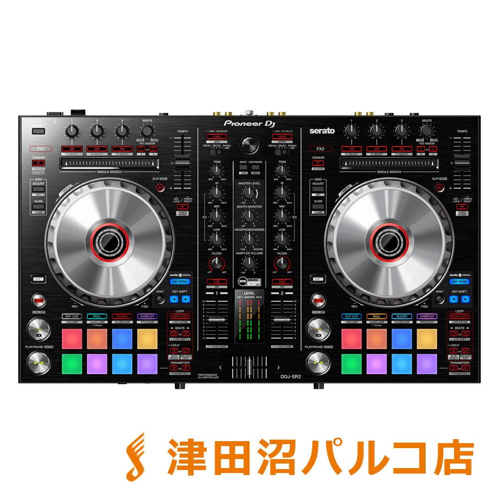 Pioneer DDJ-SR2 serato DJ用 DJコントローラー 【パイオニア DDJSR2】【津田沼パルコ店】