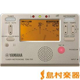 YAMAHA TDM-700G チューナー メトロノーム ゴールド 【ヤマハ TDM700G】