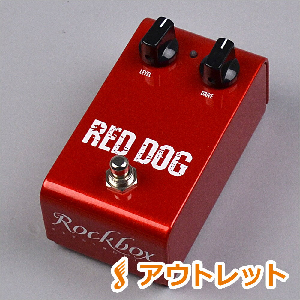 Rockbox Electronics RED DOG 2014 コンパクトエフェクター/ディストーション 【ロックボックス】【りんくうプレミアムアウトレット店】【アウトレット】