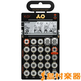 Teenage Engineering pocket operator PO-33 K.O! マイクロサンプラー 【ティーンエイジ エンジニアリング PO33ko】