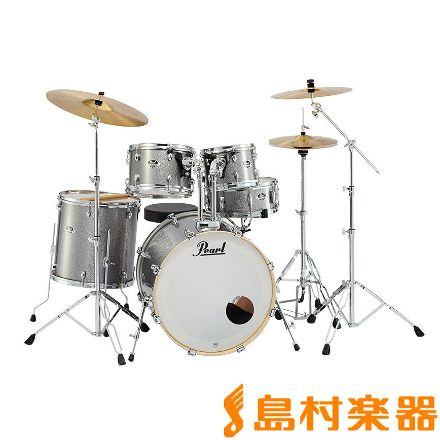 Pearl EXPORT EXX725S/C #708 Grindstone Sparkle シンバル付きドラムセット スタンダードサイズ 【パール】【フルセット】【生産完了品】