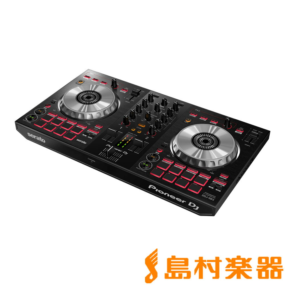 Pioneer DDJ-SB3 DJコントローラー [Serato DJ Lite無償ダウンロード] 【パイオニア】