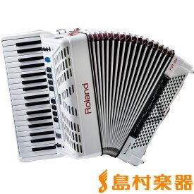Roland V-Accordion FR-3X (ホワイト) Vアコーディオン [中型 ピアノ鍵盤タイプ] 【ローランド FR3X】