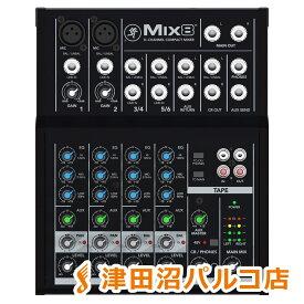MACKIE MIX8 8チャンネル コンパクト ミキサー 【マッキー】【津田沼パルコ店】
