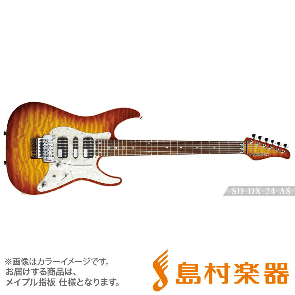 SCHECTER SD-DX-24-AS/M LDSB エレキギター 【シェクター】