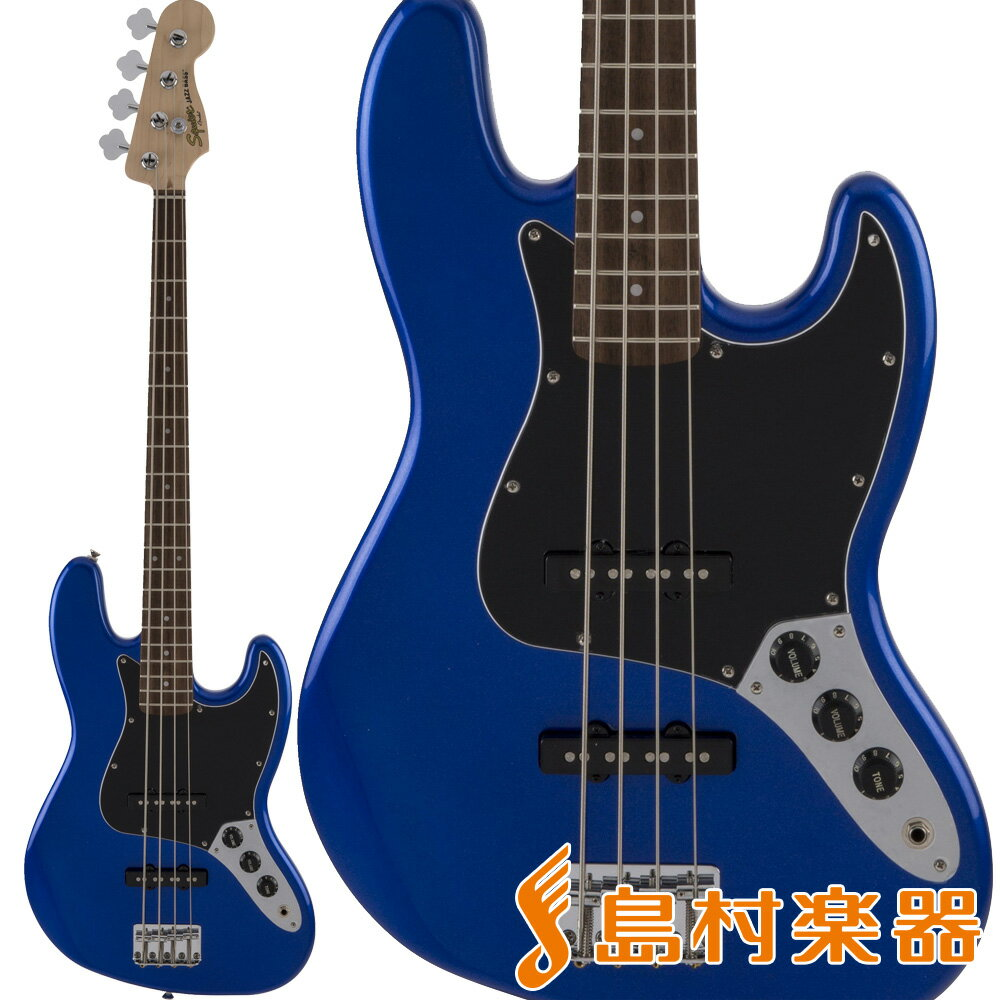 Squier by Fender AFFINITY Jazz Bass Indian Laurel Imperial Blue エレキベース 【スクワイヤー / スクワイア】