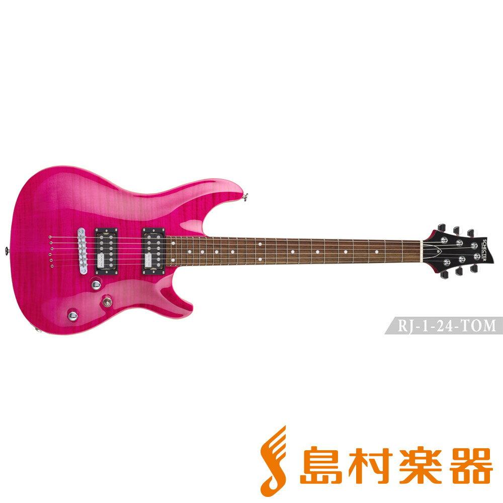 SCHECTER RJ-1-24-TOM/R PINK エレキギター RJ SERIES 【シェクター】