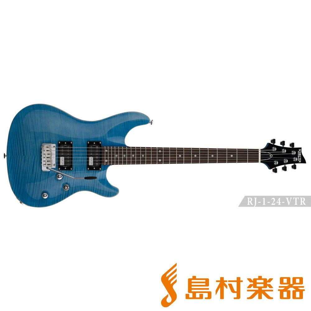 SCHECTER RJ-1-24-VTR/R AQB エレキギター RJ SERIES 【シェクター】
