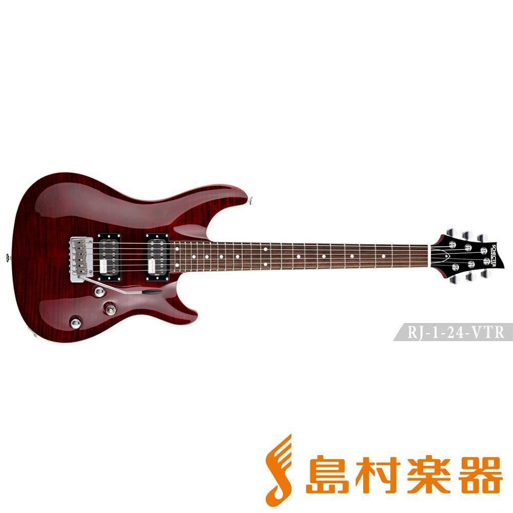 SCHECTER RJ-1-24-VTR/R RED エレキギター RJ SERIES 【シェクター】