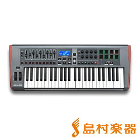 【数量限定特価】 novation IMPULSE49 MIDIキーボード 49鍵盤 【ノベーション】