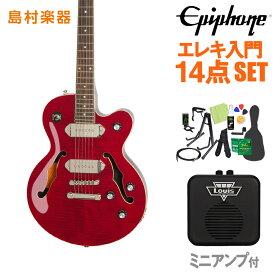 Epiphone Wildkat STUDIO WR エレキギター 初心者14点セット ミニアンプ付き 【エピフォン】【オンラインストア限定】