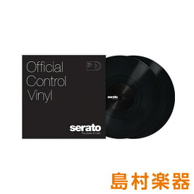 Serato Control Vinyl Performance Series [ Black] ブラック 2LP Scratch Live用コントロールバイナル 【セラート】