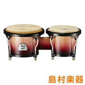 Pearl Primero Wood Bongos PWB-100 プリメーロボンゴ クリムゾンサンライズ 【パール】
