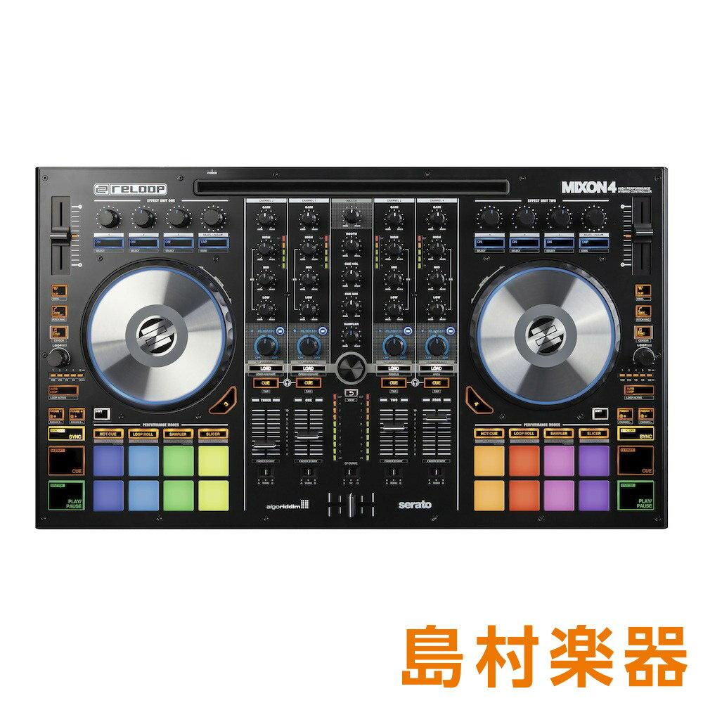 Reloop MIXON4 PCDJコントローラー 【リループ】