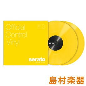 Serato Control Vinyl Performance Series [ Yellow] イエロー 2LP Scratch Live用コントロールバイナル 【セラート】