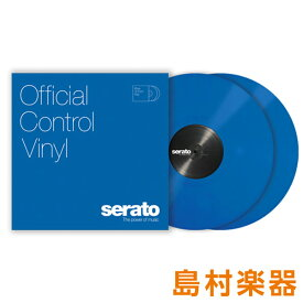 Serato Control Vinyl Performance Series [ Blue] ブルー 2LP Scratch Live用コントロールバイナル 【セラート】