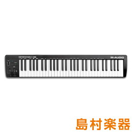 M-AUDIO Keystation61 MK3 61鍵盤 MIDIコントローラー 【Mオーディオ】