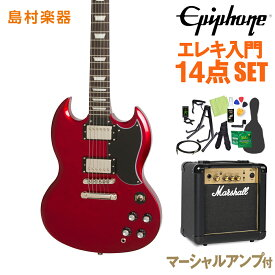 Epiphone Limited Edition 1961 G-400 PRO Candy Apple Red エレキギター 初心者14点セット 【マーシャルアンプ付き】 【エピフォン】【オンラインストア限定】