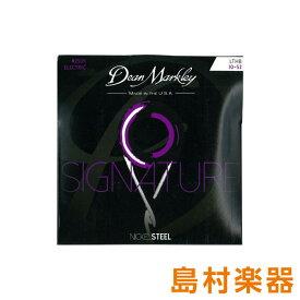 Dean Markley 2504 エレキギター弦 Nickel Steel Electric Signature Series LTHB 010-052 【ディーンマークレイ】