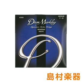 Dean Markley 2505 エレキギター弦 Nickel Steel Electric Signature Series MED 011-052 【ディーンマークレイ】