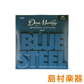 Dean Markley 2555 エレキギター弦 Blue Steel Electric JZ 012-054 【ディーンマークレイ】