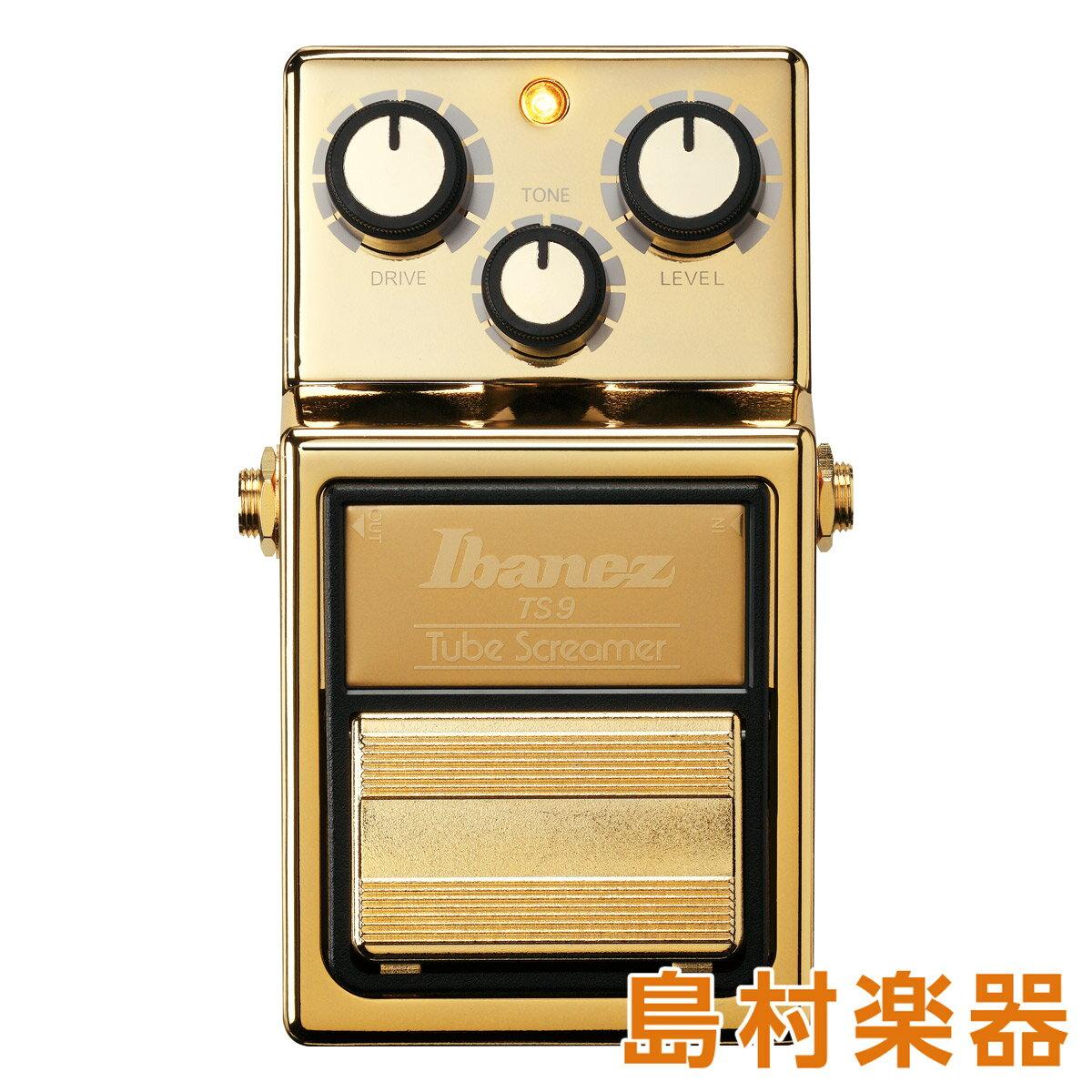 Ibanez TS9 GOLD オーバードライブ 【アイバニーズ Tube Screamer】【数量限定】
