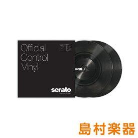 Serato 10' Control Vinyl [Black] 2枚組 Scratch Live用 コントロールバイナル 10インチ 【セラート SCV-PS-BLK-10】