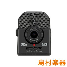ZOOM Q2n-4K 4Kカメラ ハンディービデオレコーダー 【ズーム】