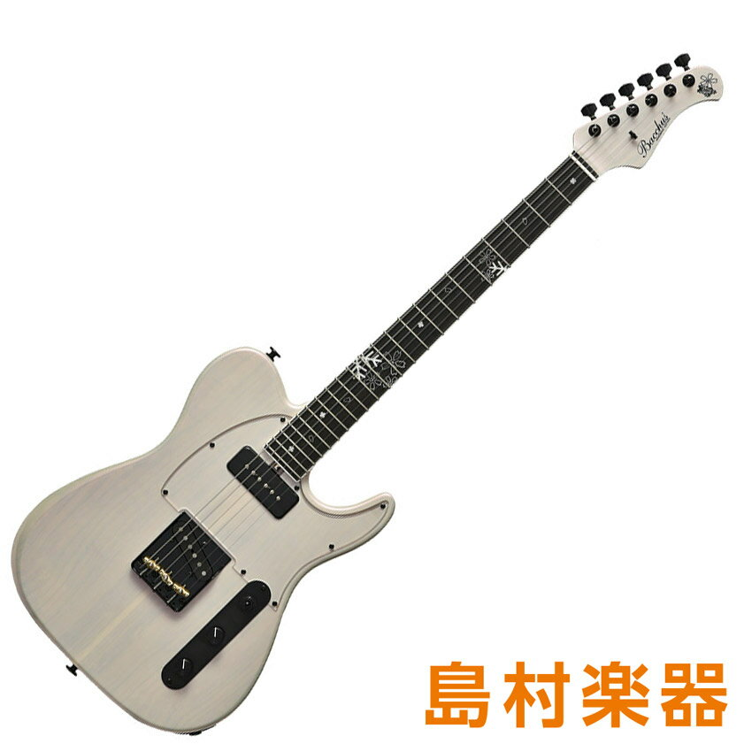 Bacchus T-MASTER Fuyuzakura/E-MF'18 SWP Sakura White Pearl エレキギター ハンドメイドシリーズ 【バッカス】