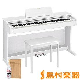CASIO AP-270WE ホワイトウッド調 電子ピアノ セルヴィアーノ 88鍵盤 【カシオ AP270】【配送設置無料・代引き払い不可】【別売り延長保証対応プラン:E】