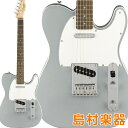 Squier by Fender Affinity Series Telecaster Laurel Fingerboard Slick Silver エレキギター テレキャスター 【スク…