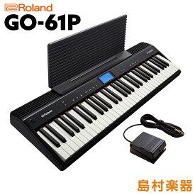 キーボード 電子ピアノ Roland GO:PIANO GO-61P 61鍵盤 【ローランド GO61P GOPIANO】 楽器