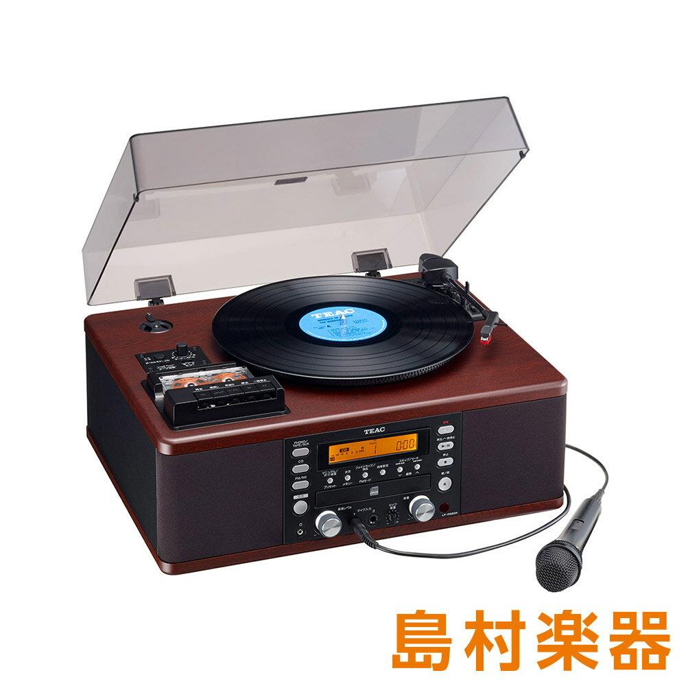 TEAC LP-R560K ターンテーブル [ レコードプレーヤー/ カセットプレーヤー/ CDプレーヤー / ラジオチューナー] カラオケ機能付き 【ティアック LPR560K】
