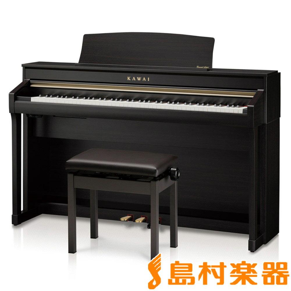 KAWAI CA78R プレミアムローズウッド調 電子ピアノ 88鍵盤 【カワイ】【配送設置無料・代引き払い不可】【別売り延長保証対応プラン:C】