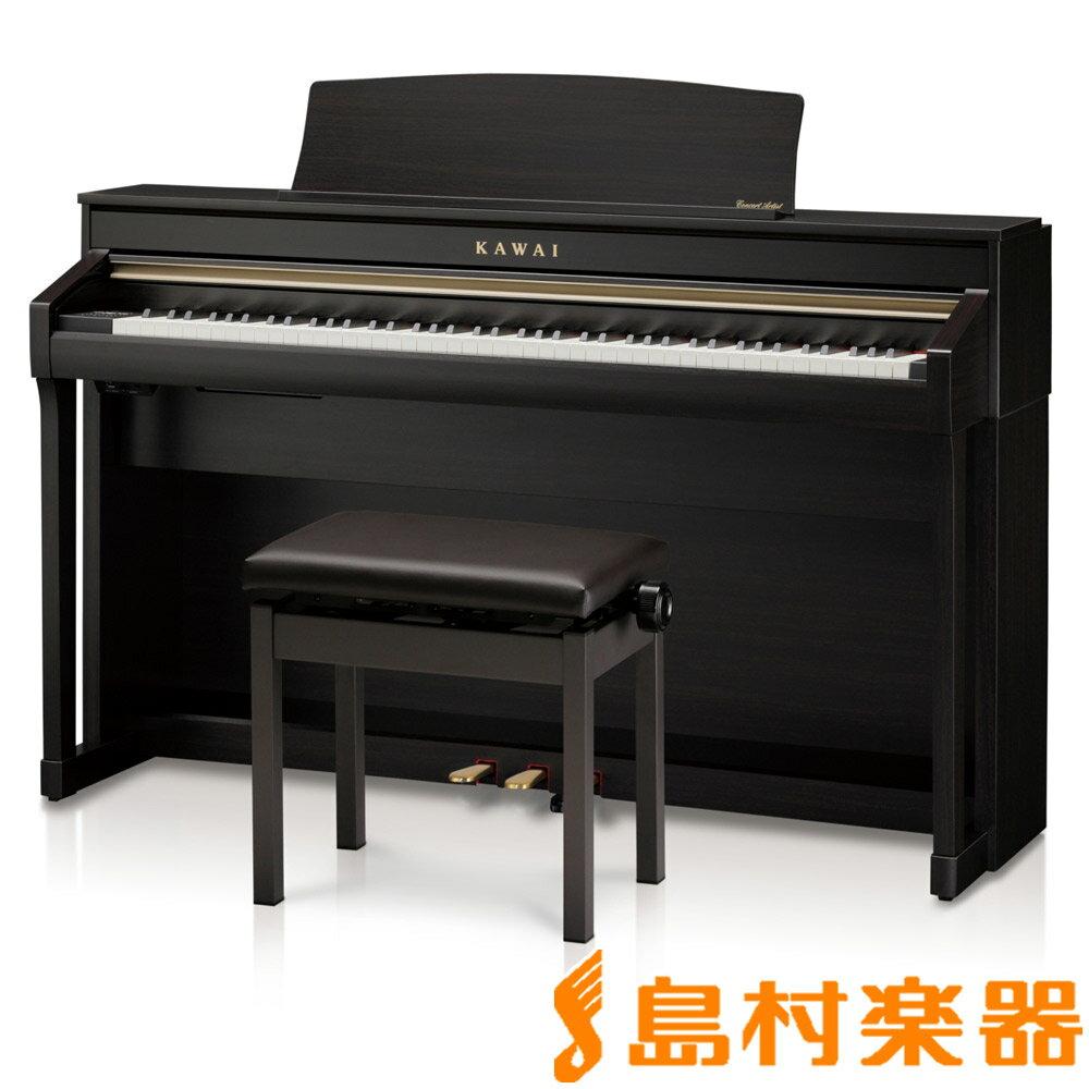 KAWAI CA58R プレミアムローズウッド調 電子ピアノ 88鍵盤 【カワイ】【配送設置無料・代引き払い不可】【別売り延長保証対応プラン:C】