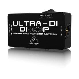 BEHRINGER ULTRA-DI DI400P ダイレクトボックス 【ベリンガー】【正規輸入品】