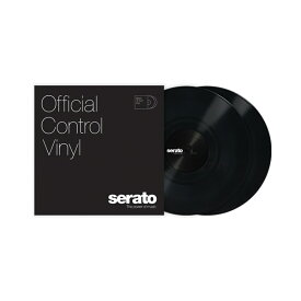 "Serato 12"" Serato Control Vinyl [Black] 2枚組 コントロールバイナル 【セラート】"