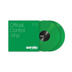 Serato Control Vinyl Performance Series [ Green] グリーン 2LP Scratch Live用コントロールバイナル 【セラート】