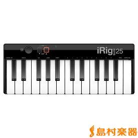 IK Multimedia iRig KEYS 25 MIDIキーボード 25鍵盤 【IKマルチメディア】