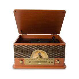 ION AUDIO Superior LP レトロ調 レコードプレーヤー Bluetooth対応 【 カセットテープ / CD / ラジオ / USB】対応 【アイオンオーディオ】