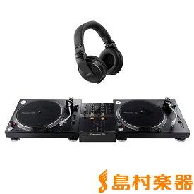 Pioneer DJ PLX-500-K + DJM-250MK2(ミキサー) + HDJ-X5-K(ヘッドホン) アナログDJセット 【パイオニア】
