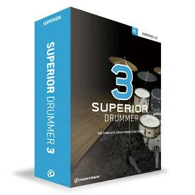 TOONTRACK SUPERIOR DRUMMER 3 ドラム音源 【トゥーントラック】