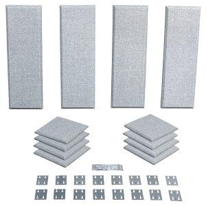 Primacoustic LONDON 8 (グレー) 吸音パネルセット [約4.9畳]対応 【プライマコースティック London Room Kit】[大型商品につきキャンセル不可]