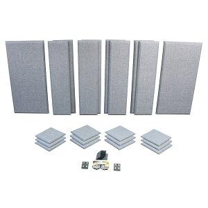 Primacoustic LONDON 12 (グレー) 吸音パネルセット [約8.2畳]対応 【プライマコースティック London Room Kit】[大型商品につきキャンセル不可]
