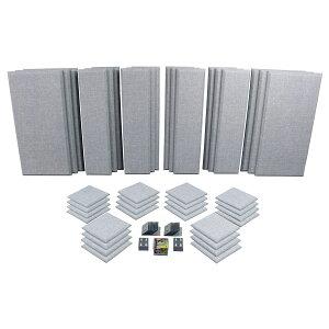 Primacoustic LONDON 16 (グレー) 吸音パネルセット [約10.9畳]対応 【プライマコースティック London Room Kit】[大型商品につきキャンセル不可]