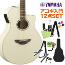 YAMAHA APX600 VW アコースティックギター初心者12点セット 【ヤマハ】【オンラインストア限定】