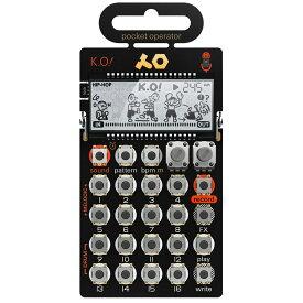 Teenage Engineering pocket operator PO-33 K.O! マイクロサンプラー 【ティーンエイジ エンジニアリング PO33ko】[国内正規品]