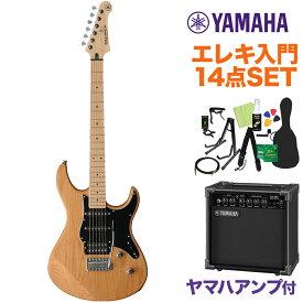 YAMAHA PACIFICA112VMX YNSエレキギター 初心者14点セット 【ヤマハアンプ付き】 イエローナチュラルサテン 【ヤマハ パシフィカ PAC112】【オンラインストア限定】