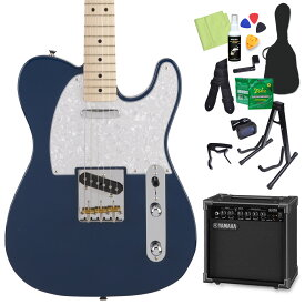 Fender Made in Japan Hybrid Telecaster Indigo エレキギター 初心者14点セット 【ヤマハアンプ付き】 【フェンダー】【オンラインストア限定】
