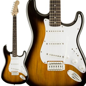 Squier by Fender Bullet Strat with Tremolo, Laurel Fingerboard, Brown Sunburst エレキギター ストラトキャスター 【スクワイヤー / スクワイア】